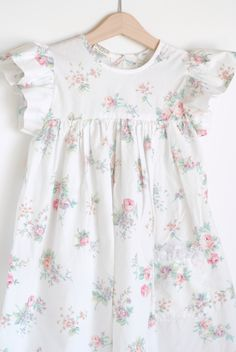Vintage toddler dress, pretty. I can see Emily in one of these in the very near future. Lol