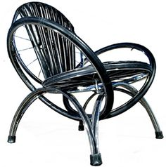 Art-Sci: Artistic Recycling: Amazing Furniture Made From Old Bicycles