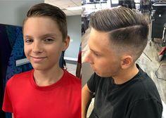 Trending Boys Haircuts, Kid Boy Haircuts, Cute Little Boy Haircuts, White Boy Haircuts, Boys Fade Haircut, Little Boy Hairstyles, Boys Long Hairstyles, Haircut For Thick Hair, Top Hairstyles