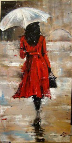The devil wears prada oil canvas