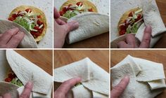 Homemade Crunchwrap Supreme Recipe. Make your own Taco Bell BETTER at home!