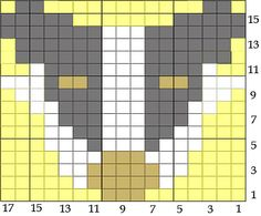 hufflepuff hexi puff chart by nightchaed on Ravelry Harry Potter Cross Stitch Pattern, Cross Stitch Patterns, Quilt Patterns, Knitting Charts, Loom Knitting, Harry Potter House Colors, Harry Potter Perler Beads, Yarn Bee, Geek Crafts