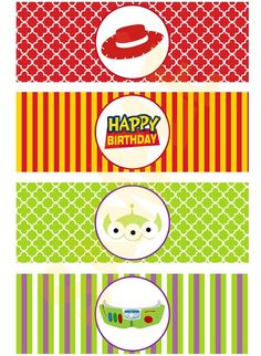 Toy Story Inspired Bubbles Bottle Labels by EveRyThiNgBDay on Etsy, $4.00
