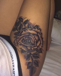 Thigh tattoo.... *** Check out more at the picture link