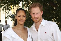 Prince Harry has endured awkward questions about the sex lives of the Royal Family as he and pop superstar Rihanna took HIV tests together in Barbados to raise awareness about the illness on World Aids Day. Diana Spencer, Prince Charles, Prince Henry, Elizabeth Ii, Prinz Harry Meghan Markle, Prince Harry Et Meghan, Rihanna Looks, Harry Wedding, World Aids Day