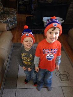 My wanna be #Oilers! - Amanda Stanchfield