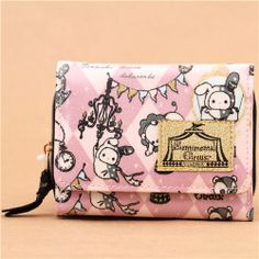 medium-sized Sentimental Circus wallet diamond pattern