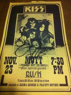 1974 Concert Poster