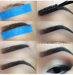 Eyebrow cheat sheet