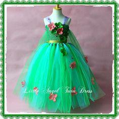 Disney Frozen Elsa Fever Limited Edition Green Tutu Dress Flower Girl Age's 3-12 | eBay