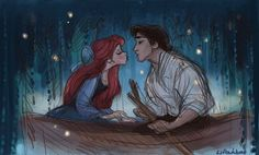 The Little Mermaid~~~ i love this. i need to find someone to paint this for me!