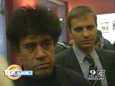 Con il grande regista Pedro Almodovar @ Prima Carne Tremula a Roma - 10/11/1997