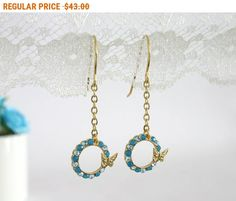 Mother's Day SALE Gold butterfly earrings Butterfly earrings Gold dangle butterfly earrings Dangle earrings Blue butterfly earrings ... by AlinYerushalmi from AlinYerushalmi. Find it now at http://ift.tt/2quNs6p!