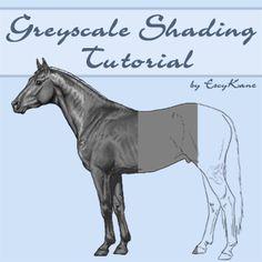 Greyscale Shading Tutorial by EscyKane