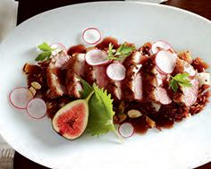 Coriander-Crusted Crispy-Skin Duck with Red Rice