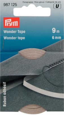 Prym Wonder Tape, selbstklebend, transparent, Breite: 6 mm, Länge: 9 m € 6,50