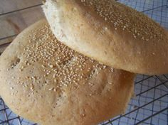 Authentic Moroccan Bread. tried this yesterday, used wheat instead of barley flour and cumin seed instead of sesame, halved the recipe and baked it in the toaster oven at work! Huge success :p