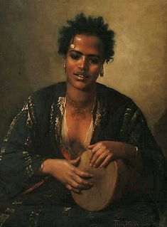 A Nubian Beauty by Franz Xavier Kosler African History, African Art, Ariana Grande Drawings, Oriental, African Diaspora, My Black Is Beautiful, African American History, Black Art, Black History