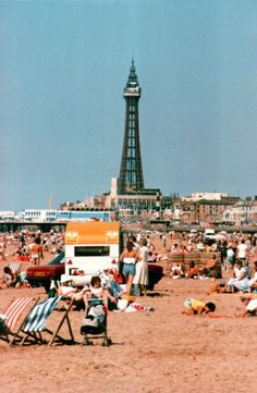 Old Blackpool photos, archives from Visit Fylde Coast Blackpool Promenade, Blackpool Beach, Blackpool Pleasure Beach, War Photography, Aerial Photography, Wildlife Photography, Landscape Photography, British Beaches, British Seaside