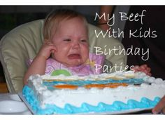 If I had a Million Dollars....I Wouldn't Spend it on a Birthday Party!