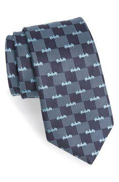 Cufflinks, Inc. 'Batman' Stripe Silk Tie