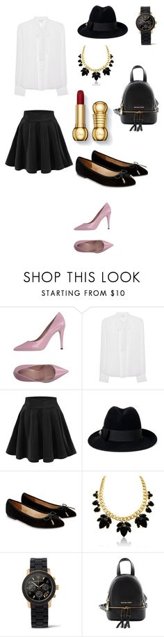 """Untitled #1"" by aynura12 ❤ liked on Polyvore featuring Diane Von Furstenberg, Gucci, Accessorize and Michael Kors"