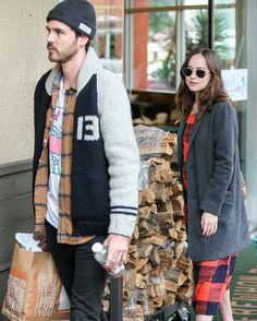 Dakota Johnson with Blake Lee in LA 6th January 2017