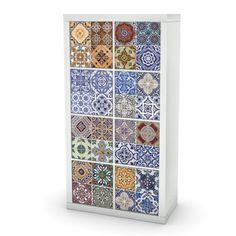 Portuguese Tiles Ikea Furniture Cover.