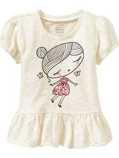 Short-Sleeve Peplum Tees for Baby | Old Navy  http://oldnavy.gap.com/browse/product.do?cid=91622&vid=1&pid=936345022