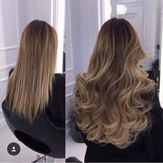 Gold Fever Before and After by The Gold Fever Boutique - Looking for Hair Extensions to refresh your hair look instantly? http://www.hairextensionsale.com/?source=autopin-thnew
