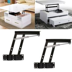 Details about Top Coffee Table Furniture Mechanism Lift Up Hardware Fitting Spring Hinge - Home - Design Rattan Furniture Lift Up Coffee Table, Garden Coffee Table, Coffee Table Furniture, Large Coffee Tables, Diy Coffee Table, Rattan Furniture, Modern Coffee Tables, Diy Table, Unique Furniture