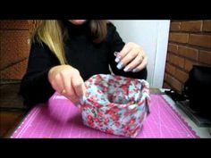 Vídeo com passo a passo, pote de sorvete reciclado, mais informações:    scrapbybeth.blogspot.com
