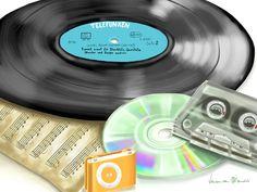 Music History ~ Veronica Minozzi ~ Ipad Painting