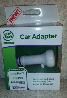 NEW LeapFrog Car Adapter Charger LeapPad 1 Leap Pad 2 Leapster GS Accessories  #LeapFrog