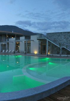Great pool at tullioHOTELin Gravedona, Lombardy, taly