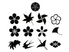 Flowers and Birds - Free Vector Site | Download Free Vector Art, Graphics
