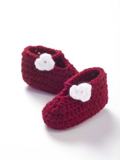 So cute! I've got to try making some of these - they'd make great baby shower gifts! Baby Love Booties