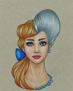 These Stunning Disney-Inspired Character Mash-Ups Are Mesmerizing
