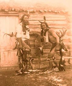 Grass Dancers on the Pine Ridge Indian Reservation