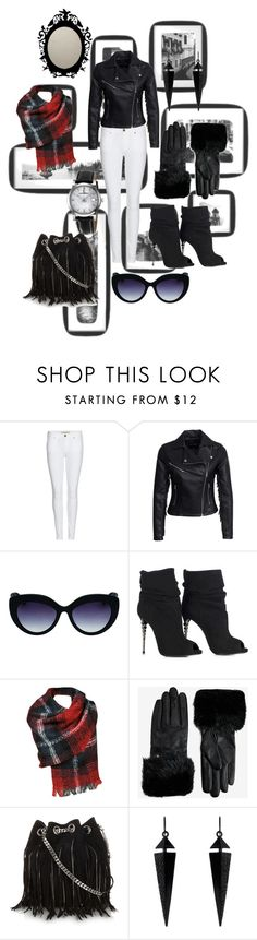 """Casual Day"" by maximum-beauty on Polyvore featuring Burberry, New Look, Oroton, Black Rivet, Ted Baker, Yves Saint Laurent and Oasis"
