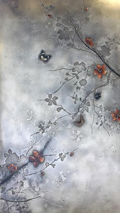 Detail - Plum Blossom Artwork | Based Upon