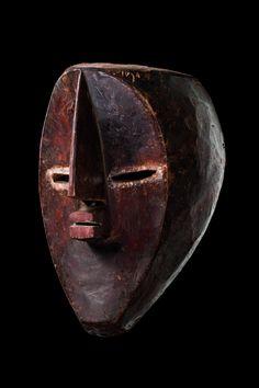 "Mask ""mfondo"" D. R. Congo, Lualwa"