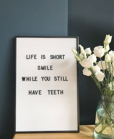 a white version of our best selling letterboard! Online to buy now. Black Letter Board, Felt Letter Board, Felt Boards, Now Quotes, Quotes To Live By, Funny Quotes, Light Box Quotes Funny, Funniest Quotes, Quotes Kids