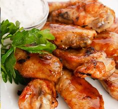 Want to try these but have to use Gluten free soy sauce.  Caramelized Chicken Wings Recipe from Grandmother's Kitchen