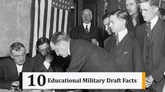 10 Educational Military Draft Facts