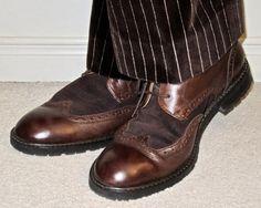 Ozwald Boateng velvet pinstripe suit, Florsheim suede & leather wingtips… #OzwaldBoateng #velvet #pinstripe #Florsheim #Toronto #wiwt #sartorial #sartorialsplendour #sprezzatura #menswear #mensweardaily #menstyle #mensfashion #mensboots #menshoes #wingtips #brogues #dandy #dandystyle #dapper #dapperstyle #suits #meninsuits #fall2017 #F/W17/18