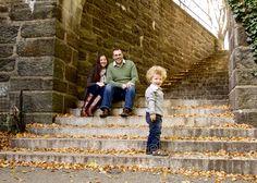 Family Portrait in Ft Tryon Park, Manhattan © Eliza's Eye Family Photography