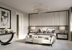 Here are the Bedroom Interior Design Ideas With Luxury Touch. This article about Bedroom Interior Design Ideas With Luxury Touch … Bedroom Color Schemes, Bedroom Colors, Home Decor Bedroom, Bedroom Neutral, Bedroom Ideas, Trendy Bedroom, Master Bedroom, Colour Schemes, Bedroom Interiors
