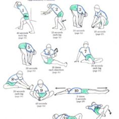 72 best stretches images  exercise health fitness