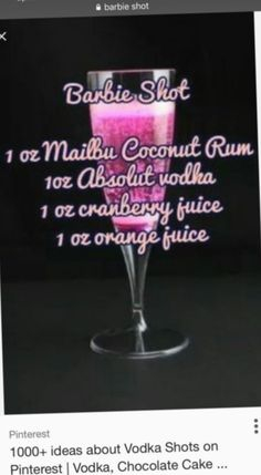 Delicious Halloween Cocktail Recipes for The Best Party Ever - cocktails and drinks - Cocktails Vodka, Liquor Drinks, Absolut Vodka, Cocktail Drinks, Alcoholic Drinks, Beverages, Malibu Cocktails, Watermelon Cocktail, Bourbon Drinks